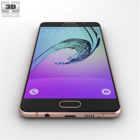 Samsung A7 2016 Fullset Ori samsung galaxy a7 2016 gold 3d model hum3d