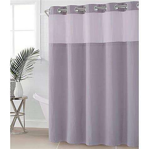 80 inch shower curtain rod buy hookless 174 waffle 54 inch x 80 inch fabric shower