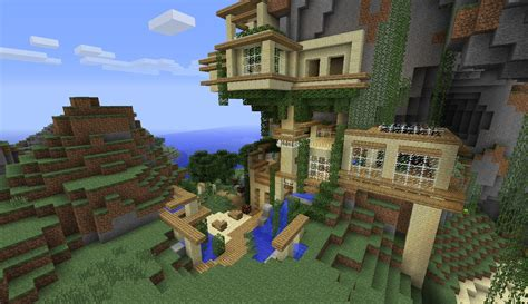 mountain houses modern mountain house minecraft project