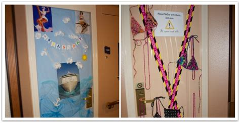 10 ideas for decorating your cruise cabin door food faraway places