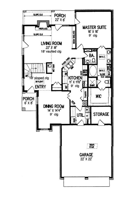 c foster housing floor plans foster traditional home plan 020d 0217 house plans and more