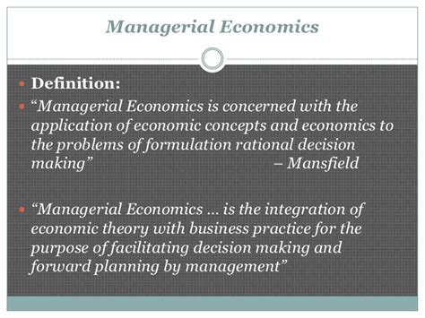 the economics of managerial decisions what s new in economics books introduction to managerial economics