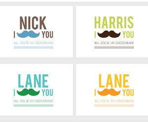 printable groomsman invitation i mustache you groomsman invitation allfreediyweddings com