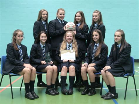 9 in years year 9 netballers school team of the year chesterfield high school
