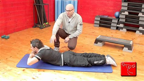 dorsali a casa come sviluppare i muscoli lombari e della schiena