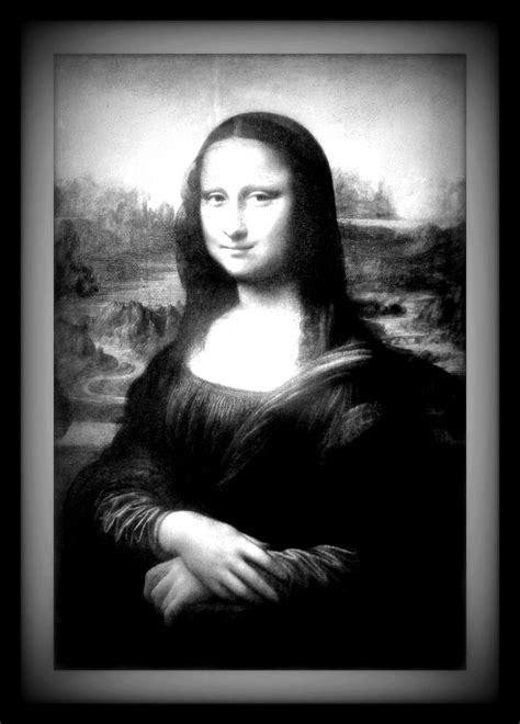 Monalisa Black mona black and white monalisa