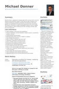 Strategy Consultant Sle Resume by Unternehmensberater Cv Beispiel Visualcv Lebenslauf Muster Datenbank