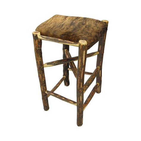 rustic log zapotec collection rustic log stool ebt010