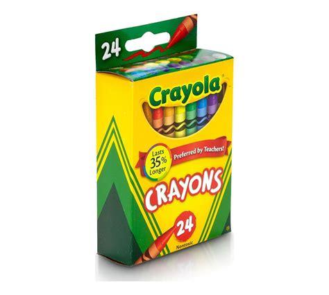 color crayola crayola crayons 24 ct crayola