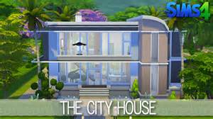 create your house the sims 4 house building the city house speed build
