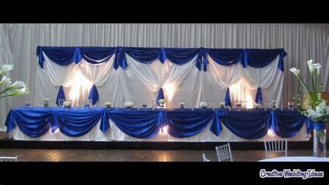 wedding decoration royal blue youtube