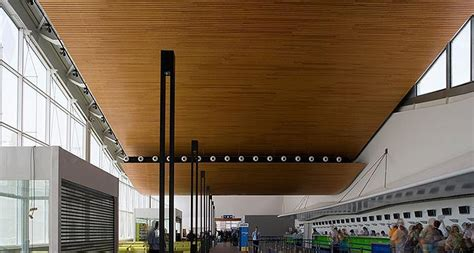 hunter douglas contract shows  mettle  wood ceilings