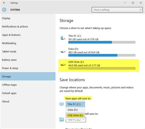install windows 10 to external hard drive install windows 10 apps to another partition or external drive
