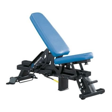 nautilus bench press nautilus adjustable bench images