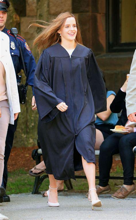 emma watson graduation dress emma watson graduates from brown university gotceleb