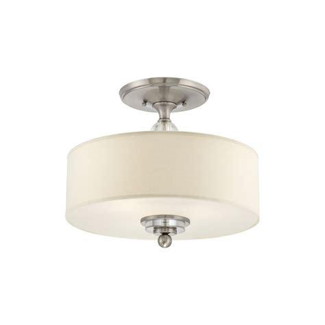 build com lighting direct quoizel brushed nickel build com exclusive 3 light semi