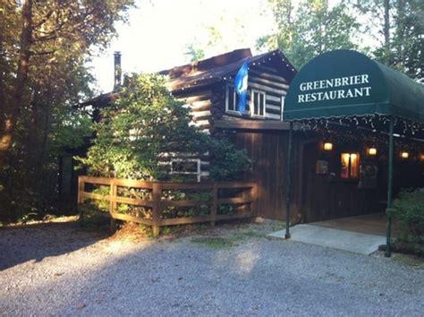 Greenbrier Cabin Gatlinburg Tn greenbrier restaurant american new gatlinburg tn