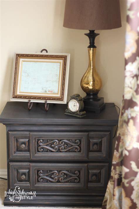 chalkboard paint nightstand chalk paint nightstand 57 in home design ideas