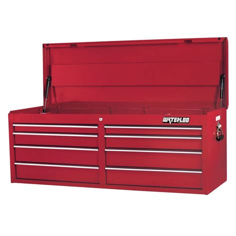 Tool Chest Drawer Liner by Waterloo Pch 528rd L 52 Inch 8 Drawer Tool Chest W Liners
