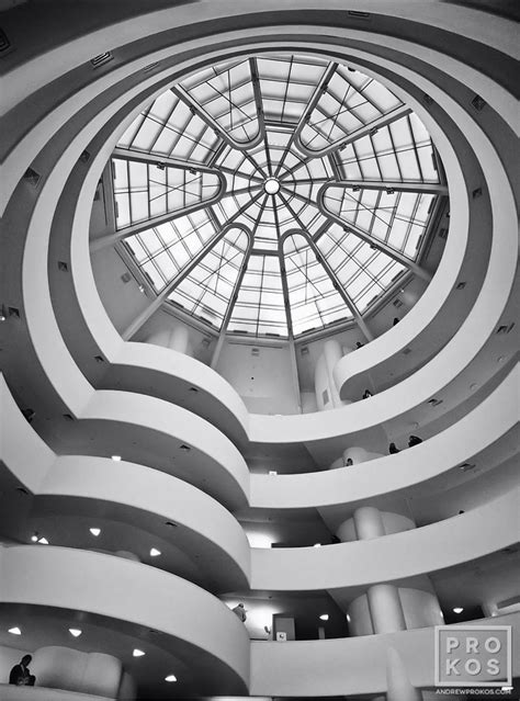 Guggenheim New York Interior by Guggenheim Museum Interior Iv Black And White