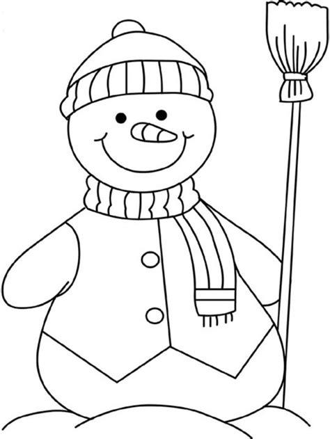 winter coloring sheets preschool color bros