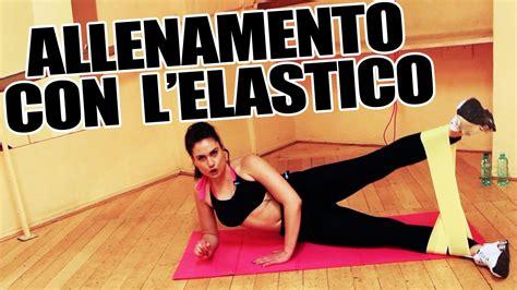 esercizi per tonificare interno braccia allenamento con elastico esercizi per gambe braccia per