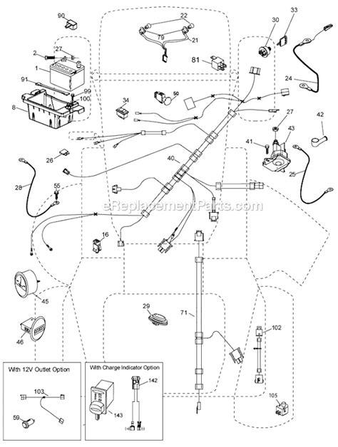 Husqvarna YT46LS Parts List and Diagram - (96043015000