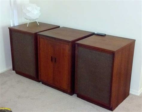 mid century cabinet stereo with mcintosh 1700