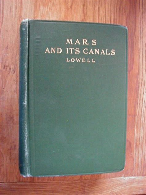 mars   canals  percival lowell
