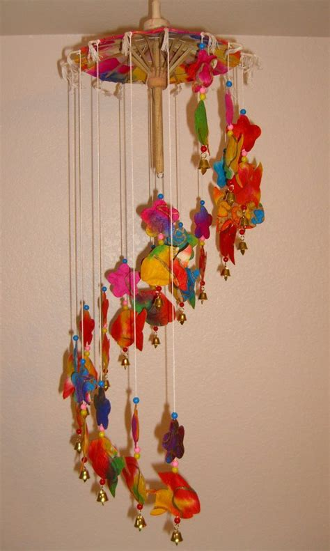 umbrella mobile pattern 161 best images about wind chimes on pinterest