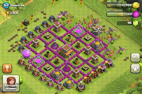 7 Best Images Of Make - top 10 clash of clans town level 8 defense base design