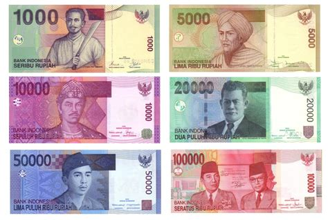 currency idr file rupiah idr banknotes jpg wikimedia commons