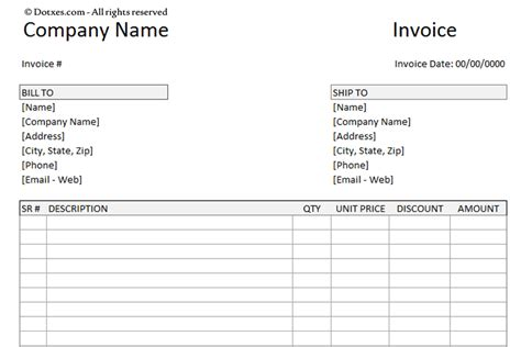 payment invoice template word billing invoice template dotxes