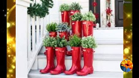 como decorar un jardin de navidad decora el jardin para navidad 60 ideas que te encantaran