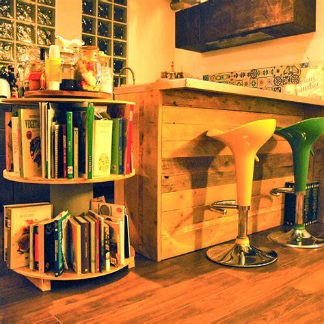 mini libreria arredamento bobine rocchetti pozzi napoelone mini