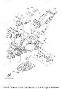 2005 grizzly 660 se yfm660rset yamaha atv frame diagram and parts