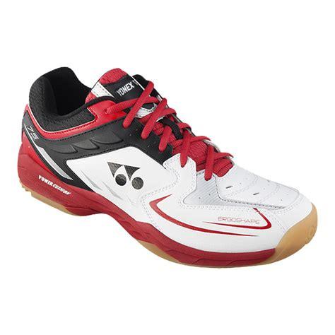 yonex s shb75 indoor court shoes white black