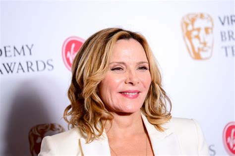 kim cattrall kim cattrall at 2017 british academy television awards in
