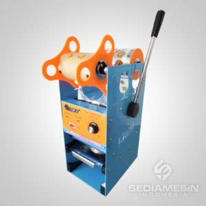 Cup Sealer Manual Et D8 Mesin Press Gelas Plastik cup sealer murah jual mesin press gelas garansi 1 tahun