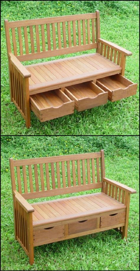 Comfy Bench 25 Best Ideas About Outdoor Storage Boxes On