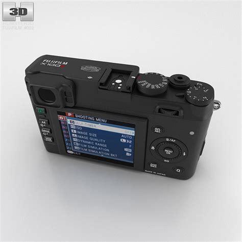 Fujifilm Finepix X100s fujifilm finepix x100s black 3d model hum3d