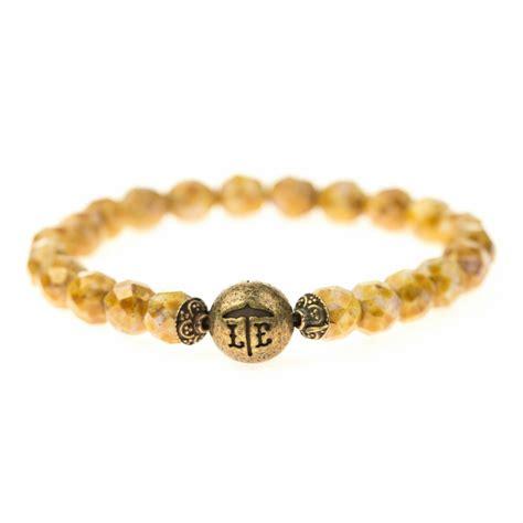 brown beaded bracelet golden brown beaded bracelet lenny