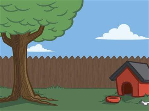 backyard cartoon fairhouse trip splitter pinterest