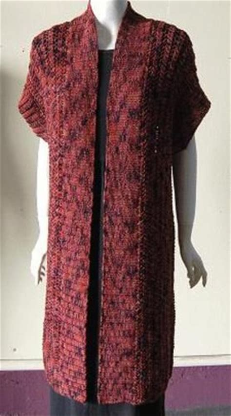 pattern for long kimono long kimono vest knitting crocheting and needlepoint