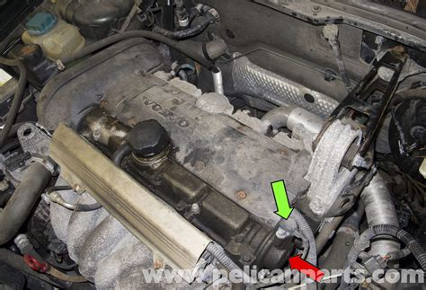 volvo  camshaft position sensor replacement   pelican parts diy maintenance article