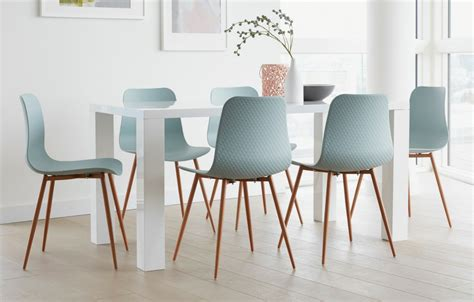 teal dining set teal 6 seater dining set rectangular home furniture