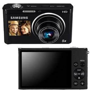 Kamera Samsung Dual View samsung dv300f dual view smart black ec dv300fbpbus all goodies