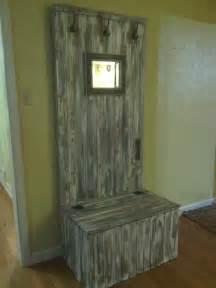 Repurposing Old Doors Pinterest Repurposed Old Door Hall Tree Home Projects In Progress