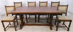 1940 Sofa Styles Sold Antique Jacobean Style Oak Amp Beech Refectory Dining