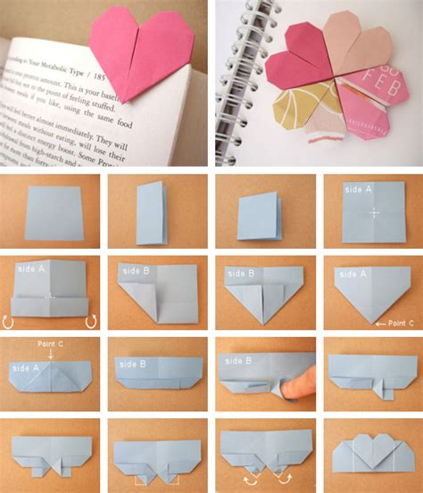 Crafts With Paper And Markers - page marker